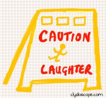 cautionlaughter