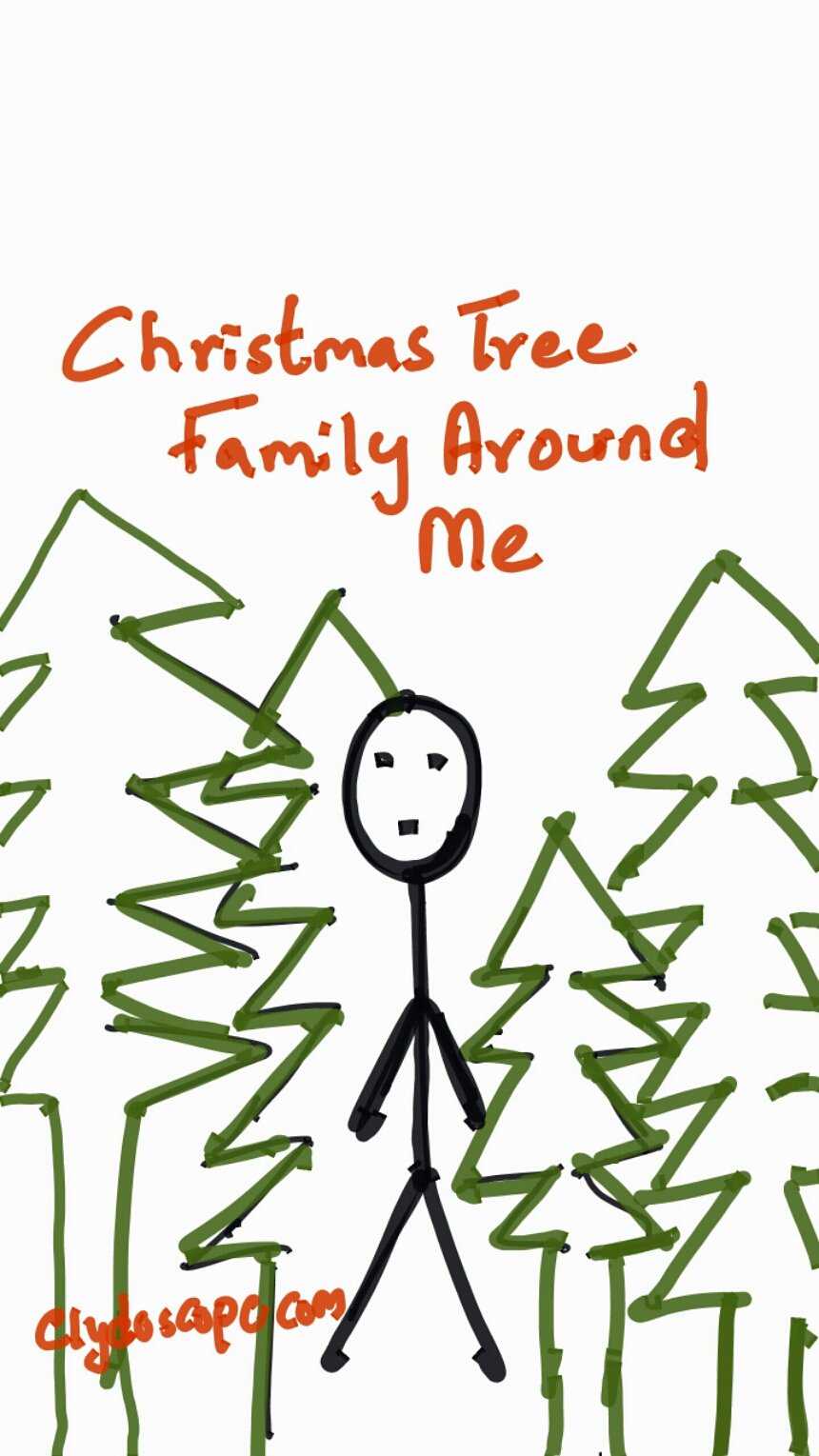 Family Of Christmas Trees Around Me | Clyde DSouza